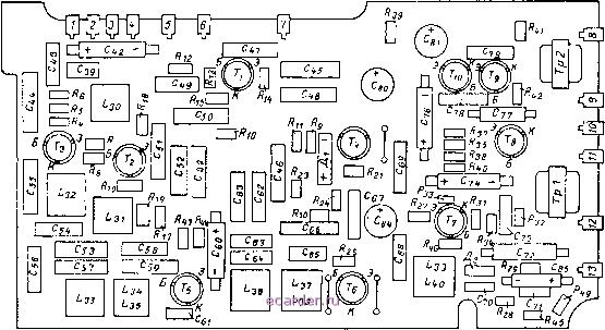 Схема приемника вэф-201