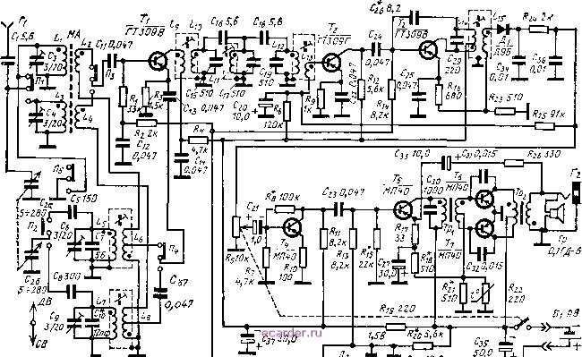 Гз-106 схема